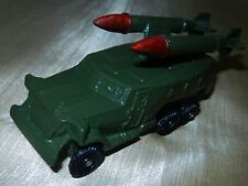 Vtg Russian Soviet USSR old metal toy armored vehicle flare-gun new in box rare