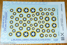 Microscale Decal #AC72-0007 U.S. Insignia - Yellow Border Operation Torch (Decal
