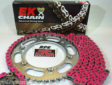 Pink CB300F 2014-16 Chain and Sprockets Kit EK X-Ring / JT Steel  OEM, QA or Fwy