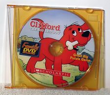 Scholastic - Clifford the Big Red Dog: Great Big Puzzle Game   Free Shipping !!