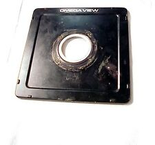 Toyo/Omega-View Lens Board | 40mm hole | Will fit 45D 45E 45F 45G 45GII 45GX