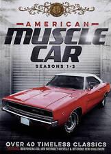 American Muscle Cars S1-3 6 DVD + Memoribelia Gift Set