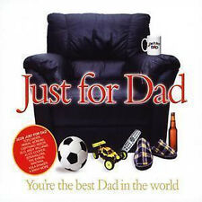 JUST FOR DAD ( FATHERS DAY ) NEW + SEALED 3 CD HITS OF THE 60's 70's 80's + 90's