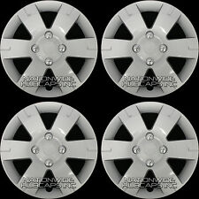 "fits 03-12 Nissan SENTRA 15"" Wheel Covers Full Rim Hub Caps Snap On 4 Lug Bolt"