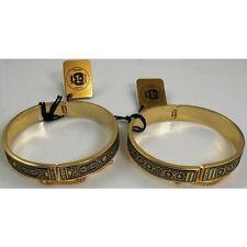 Damascene Gold Cuff Bracelet Star of Redemption by Midas of Toledo Spain 8002