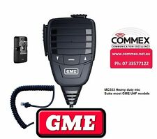 MC553 GME Heavy Duty Speaker mic suits most of the TXxxxx series radios