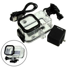 Extended External Battery Waterproof Housing Case For Camera GoPro Hero4 Session