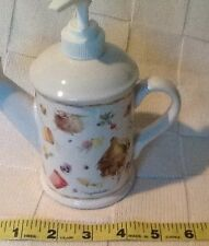 Marjolein Bastin, lotion watering can, soap pump, natures sketchbook, hallmark