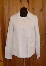 CENTIGRADE cream off-white corduroy chord cord jacket coat M 10-12 38-40