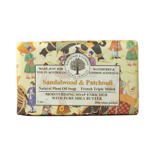 Wavertree & London 7 oz (200g)  Sandalwood & Patchouli Premium Wrapped Soap