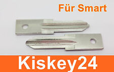 2Stück Auto Schlüssel Rohlinge für Smart ForTwo-MC01 450 Reparatur