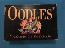 "1992 Oodles Board Game Milton Bradley ""The Game You Cant Get Enough Of"""