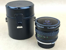 Sigma Fisheye 8mm F/4 Manual Focus Lens Olympus OM Mount - Very Clean