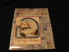 New Raggedy Andy Cross Stitch Kit - Story Time - Ann