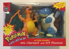 "Nintendo Hasbro - Pokemon 5"" Articulated Figures - Charizard & Blastoise - New"