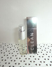 2 pc Set Fusion Clean WARM COTTON edt PERFUME Spray 0.5 oz & Refillable Case **