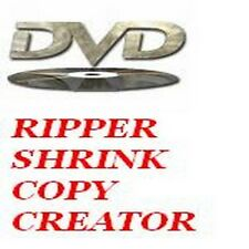 DVD CREATOR / COPY / RIPPER / BURNER SOFTWARE - COPY DVDS TO DVDS!!