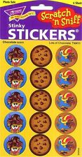 60 Lots of (CHOCOLATE) Scratch and Sniff reward Stickers