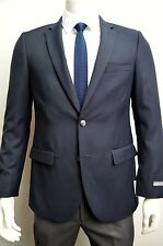 Men's Navy Blue Club Blazer w/ Double Vent Size 52L NEW Blazer