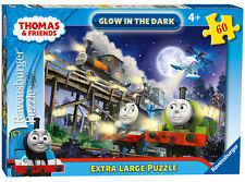 New! 06905 Ravensburger Thomas & Friends Jigsaw 60pc Glow in the Dark Puzzle 4+