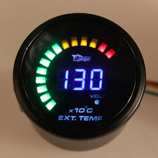 2'' 52MM CAR ANALOG 20 LED DIGITAL COLOR EXHAUST GAS TEMP TEMPERATURE EGT GAUGE