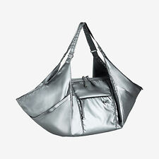 NEW NIKE VICTORY GYM TOTE BAG $110 METALLIC SILVER