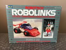Vintage 1985 Revell Robotech Robolinks Force 22 Race Car  -FACTORY SEALED-!