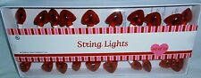Set of Decorative Valentines's Day Heart Lights 20Ct.