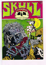 SKULL COMICS #3 1971 Underground Last Gasp NM- CORBEN CONAN PARODY LEATHER NUN