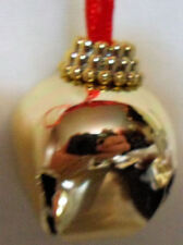 Gold Bell On String Christmas Tree Decoration Ornament Craft Making Holiday Item