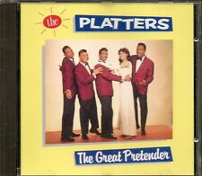 CD COMPIL 12 TITRES--THE PLATTERS--THE GREAT PRETENDER