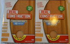 NEW Real Construction Refill Kit Multi-Pack 10 Pieces Lot of 2 TWO Kits Packs