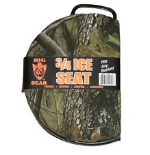 Big Bear 3/4 Seat, Camo Fits any Bucket -  Great for Fishing/hunting.. #BB-SS-2