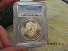 1885-O Morgan Silver Dollar  PCGS MS63   SUPER NICE MORGAN DOLLAR  CERTIFIED!