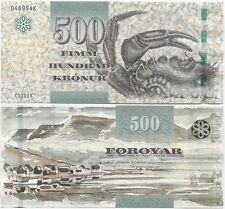 Faeroe Islands 500 Kronur 2011 (2012) UNC P-32