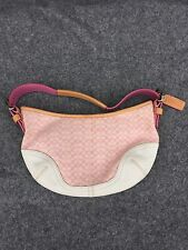 Pink Coach Purse - Small