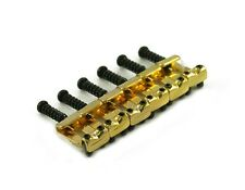 NEW - 1088 Tremolo Bridge Saddle Set - GOLD