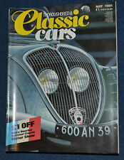 Thoroughbred & Classic Cars May 1985 Peugeot cars special edition,  Kallista