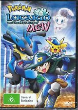 POKEMON - Lucario And The Mystery Of The Mew - DVD NEW & SEALED