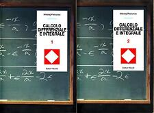 CALCOLO DIFFERENZIALE E INTEGRALE (VOLUMI 1 E 2) - analisi matematica Piskunov