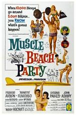Muscle Beach Party Movie Poster 24x36