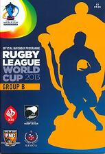 RUGBY LEAGUE WORLD CUP 2013 GROUP B MINT PROGRAMME