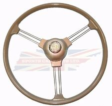 New Quality Reproduction of Original Type Steering Wheel + Center MG TD TF
