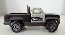 Vintage  TONKA Mini Pick Up Toy Truck - Made in USA 1978, Black & Silver