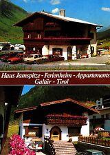 Galtür , Haus Jamspitze , Ansichtskarte