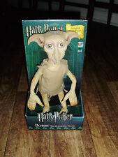 HARRY POTTER 2002 POPCO DOBBY DOLL PLUSH DETAILED SOFT VINYL HEAD MADE ONLY UK