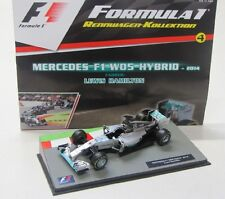 Mercedes W05 Hybrid ( World Champion 2014 ) Hamilton / Panini 1:43