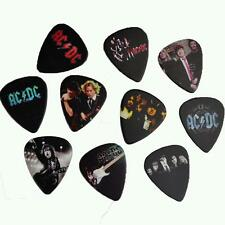 Set of 10pcs Rock Band ACDC AC/DC Medium 0.71mm Guitar Picks Plectrums