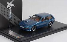 1981 Porsche 924 turbo Estate Kombi - Artz - blue bau metallic 1:43 Premium X