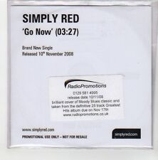 (GE767) Simply Red, Go Now - 2008 DJ CD